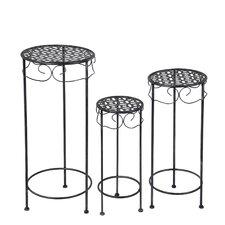 Schneider 3 Piece Round Nesting Plant Stand by Alcott Hill