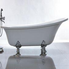 "69"" x 30"" Freestanding Soaking Bathtub"