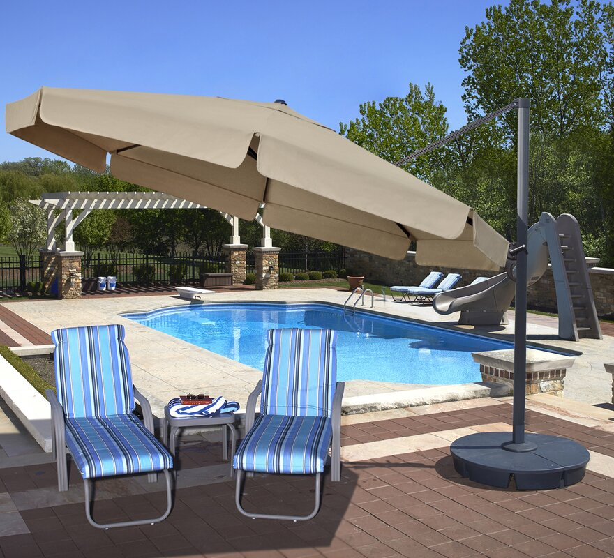 Cantilever Umbrellas Youu0027ll Love | Wayfair