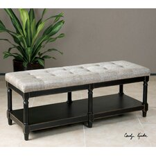 Fabric Storage Bedroom Bench by Uttermost