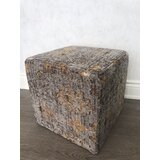 Bunnell 16 Tufted Square Abstract Pouf Ottoman by 17 Stories