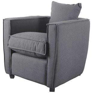 Trent Austin Design Bertaux Gray Armchair