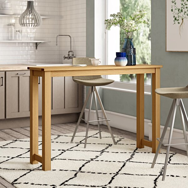 Kitchen Breakfast Bar Table Wayfair Co Uk