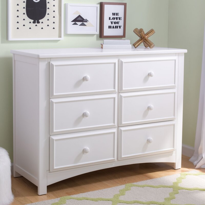 Delta Children 6 Drawer Double Dresser