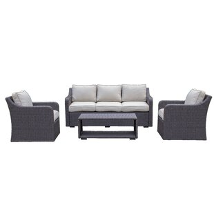 Danby 4 Piece Sofa Set with Cushions