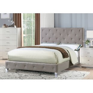Guide to buy Devine Upholstered Platform Bed by Mercer41 Reviews (2019) & Buyer's Guide