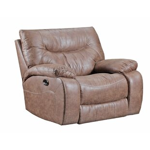 Simmons Upholstery Grizzly Hill Power Cuddler Recliner by Loon Peak