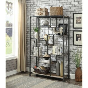 Justine Pipe-Inspired Etagere Bookcase