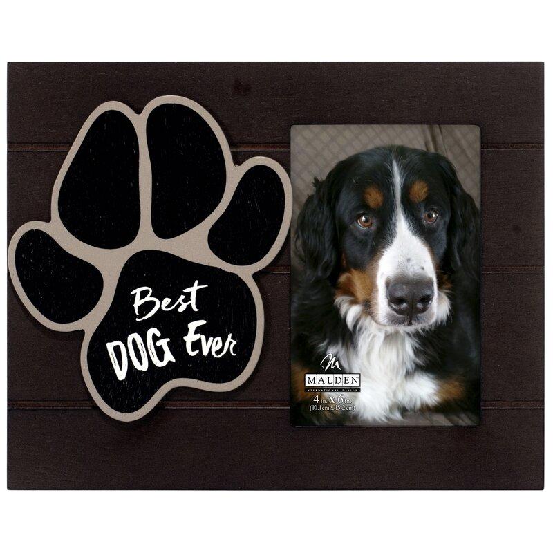 Winston Porter Best Dog Ever Picture Frame Wayfair