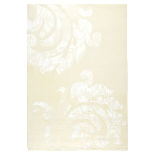 Price Check Tisha White Area Rug By Fleur De Lis Living
