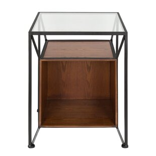 Inexpensive Goodspeed Record Storage End Table By Ivy Bronx