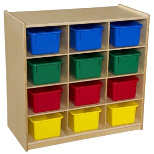 Read Reviews Cubby with Bins By Wood Designs