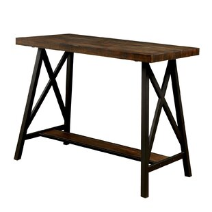 Gracie Oaks Orofino Wooden Counter Height Dining Table