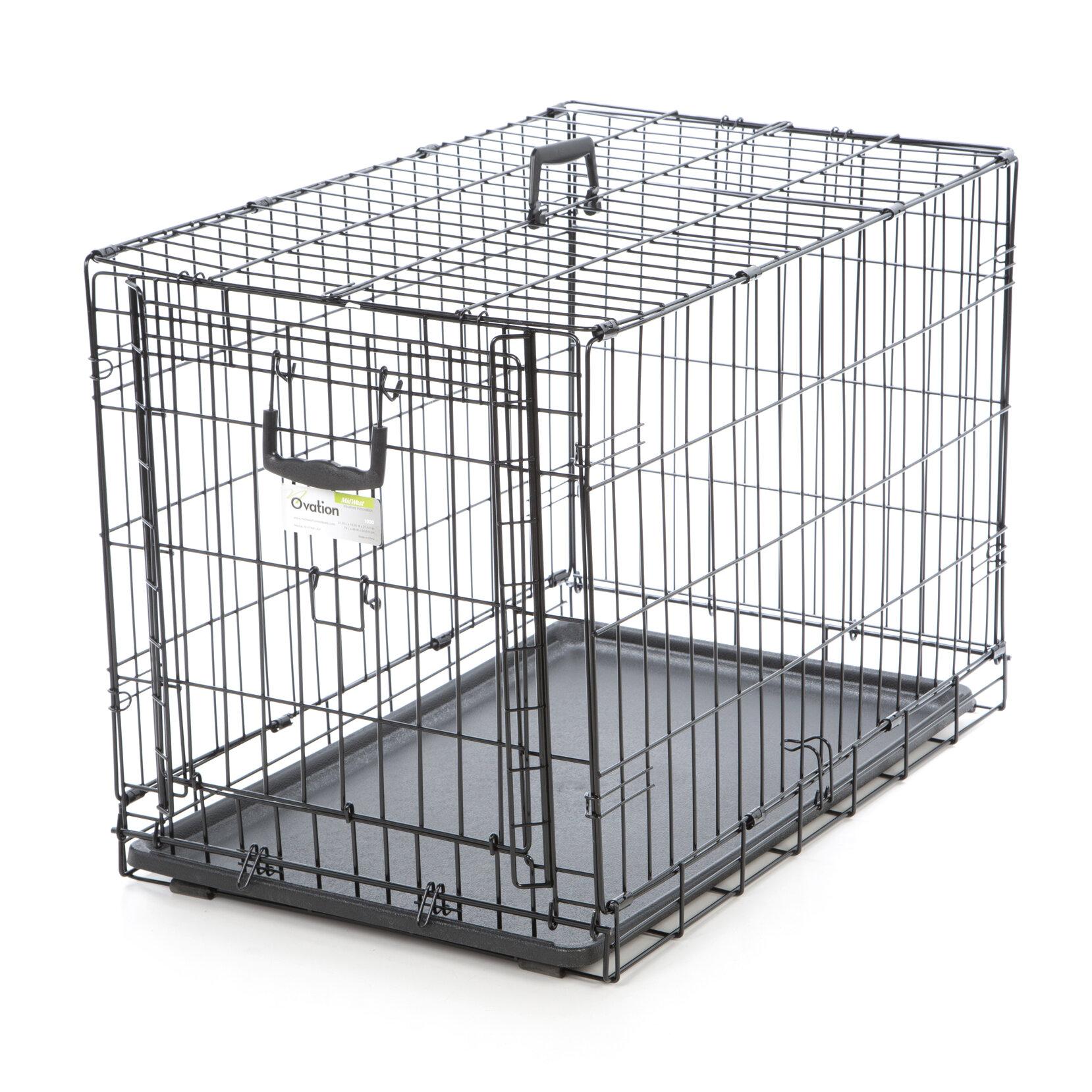 Midwest Homes For Pets Ovation Single Door Pet Crate U0026 Reviews | Wayfair