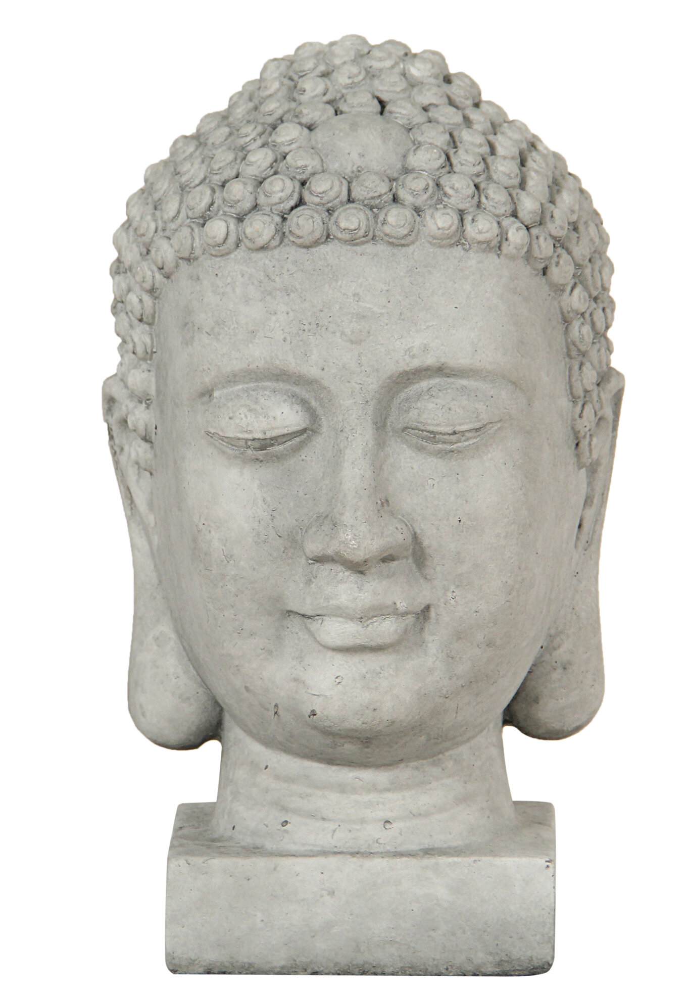 Tranquility 14 High Buddha Head Accent Statue