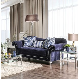 Reviews Lazo Loveseat by Everly Quinn