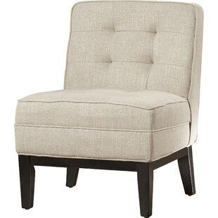 Brayden Studio Hilburn Slipper Chair