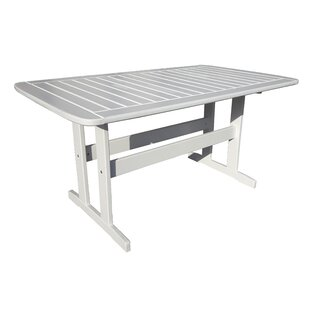 Heckson Wooden Dining Table By Alpen Home