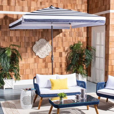 Trainor 7.5 Square Market Umbrella by Breakwater Bay Today Only Sale