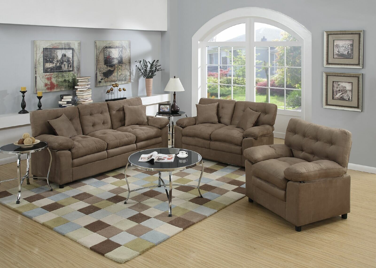 Hayleigh 3 Piece Living Room Set