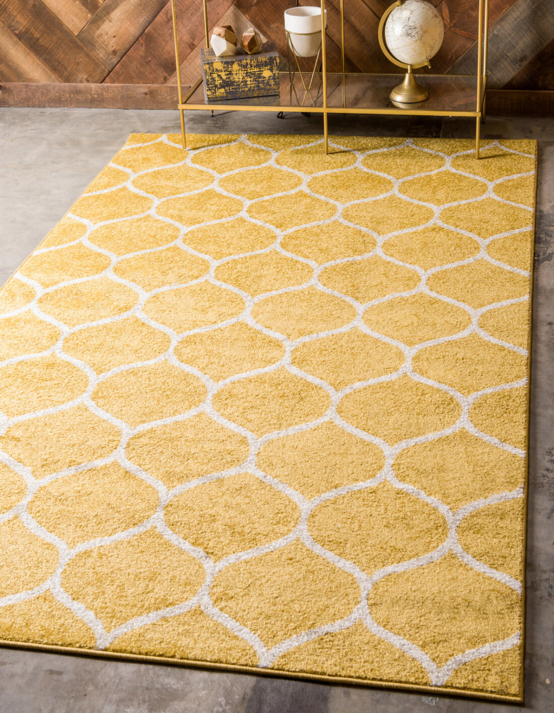 Coastal Yellow Gold Area Rugs You Ll Love In 2021 Wayfair