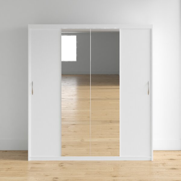Closet Mirror Sliding Doors Wayfair