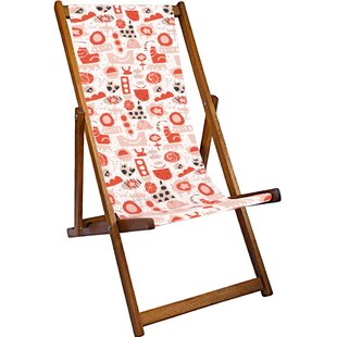 Clementine Reclining Deck Chair By Sol 72 Outdoor