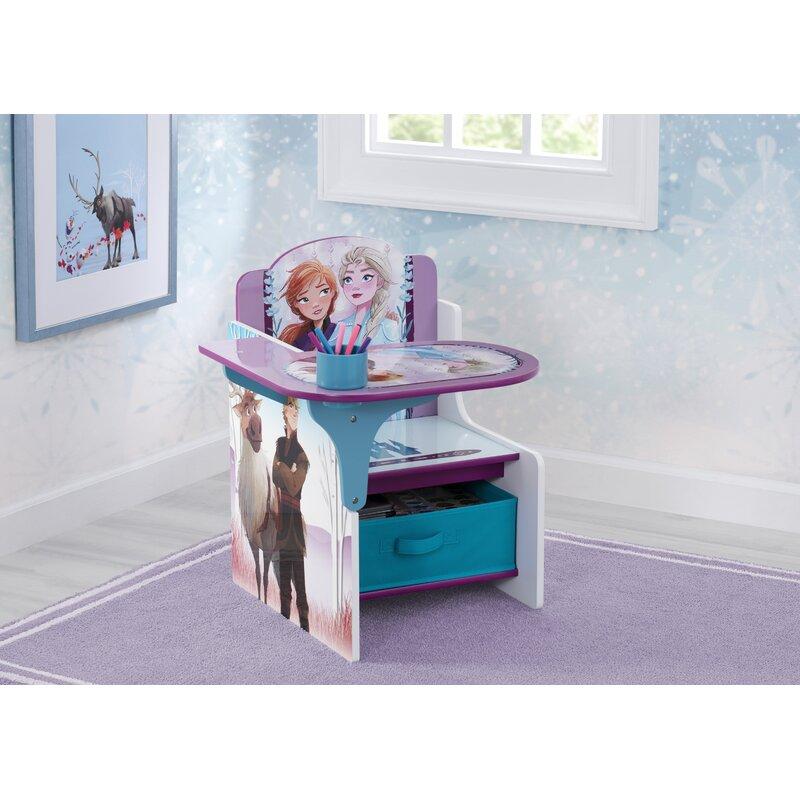 Delta Children Chair Desk W Storage Bin Ideal For Arts /& Crafts Snack Time Homes