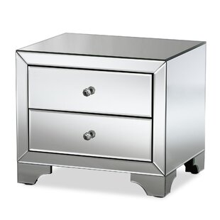 Beglin 2 Drawer Nightstand by House of Hampton