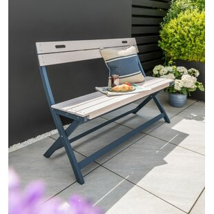 Sumlin Wooden Bench By Sol 72 Outdoor