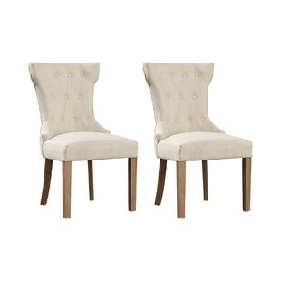 Fennimore Upholstered Dining Chair (Set Of 2) By Brambly Cottage
