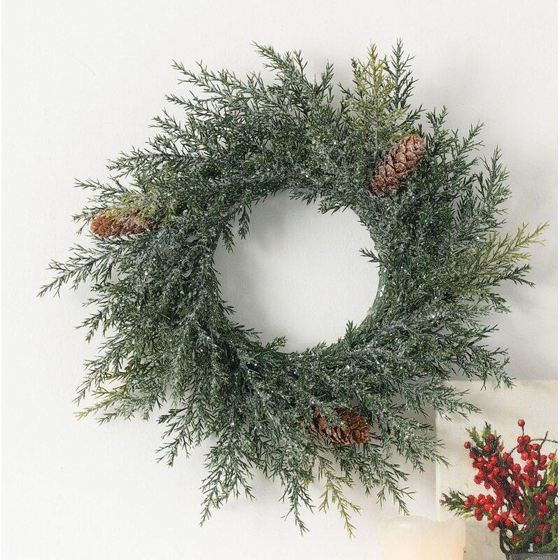 The Holiday Aisle 12 Plastic Wreath Wayfair