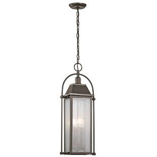 August Grove Devils Lake 4-Light Lantern Pendant