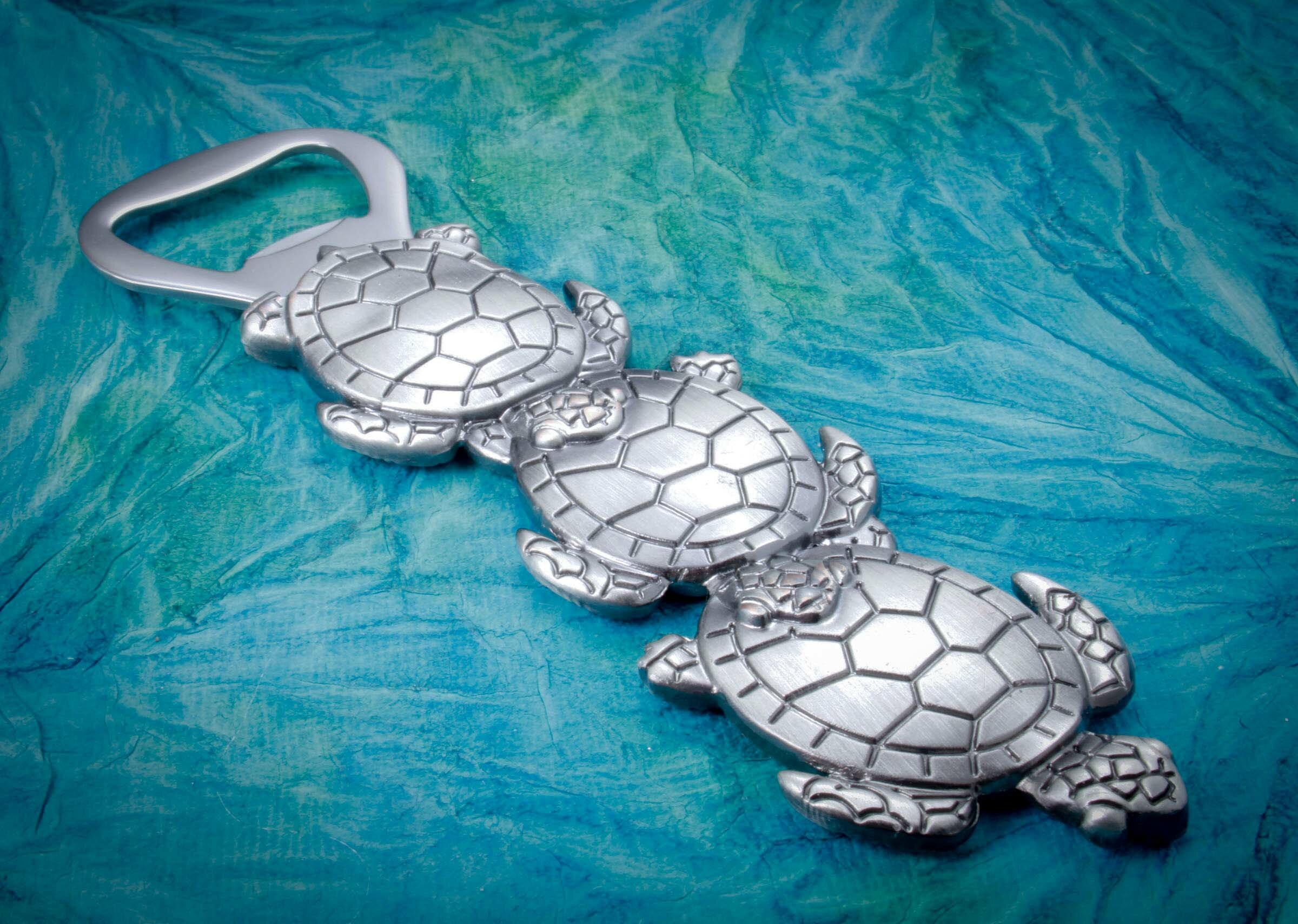 Thirstystone Bottle Opener Turtle Silver LD-D18502