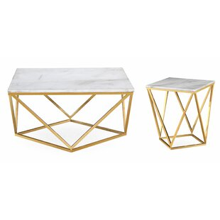 Berberia Coffee Table Set by Willa Arlo Interiors