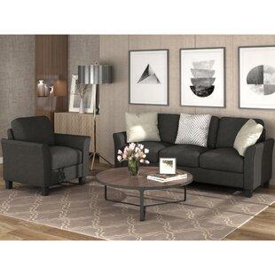 Eilleen 2 Piece Living Room Set by Red Barrel Studio