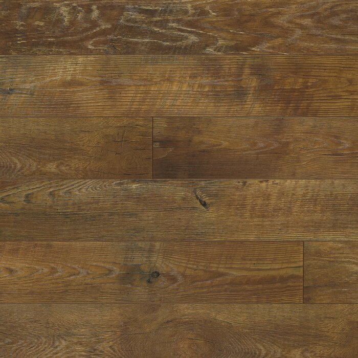 Restoration Collection 6 X 51 12mm Oak Laminate Flooring In Timber