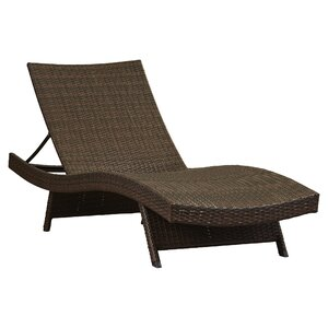 Athanasius Adjustable Chaise Lounge