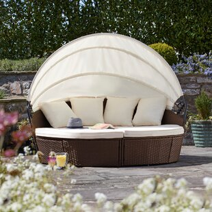 Coretta Garden Daybed With Cushions By Sol 72 Outdoor