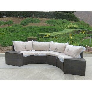 Bayou Breeze Kelch 2 Piece End Table Set with Back Pillows