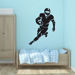 Americana Football Player Wall Decal