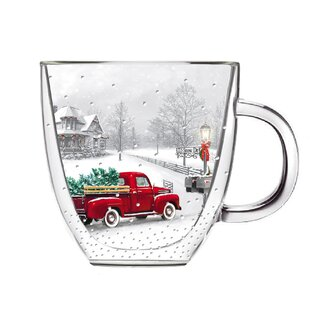 Hadley Winter Truck Coffee Mug