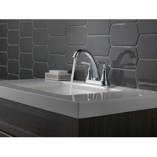 Best Woodhurst Centerset Bathroom Faucet with Drain Assembly ByDelta