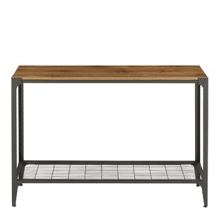 Arboleda Rustic Wood Console Table By Union Rustic