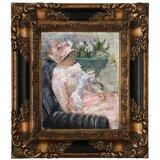 A cup of tea #2 by Mary Cassatt Giclee Fine ArtPrint Reproduction on Canvas