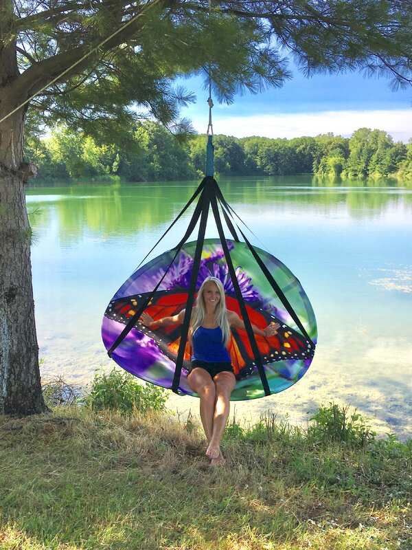 Blooming Double Hammock Chair