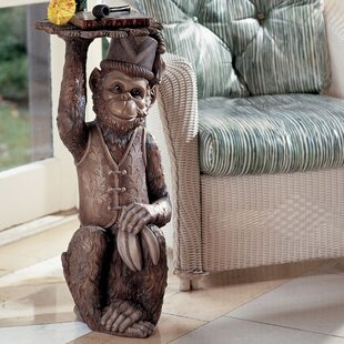 Best Reviews Moroccan Monkey Butler Sculptural End Table by Design Toscano