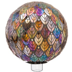 Ecumenics Baroque Splendor Mosaic Gazing Ball