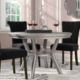 Kacy Solid Wood Dining Table Willa Arlo Interiors