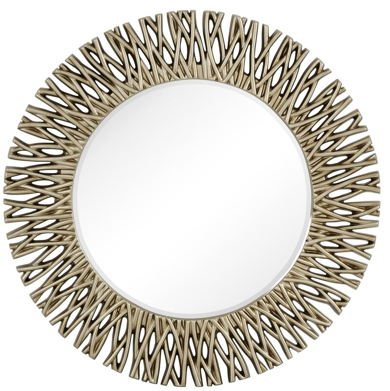 Silver Wall Mirrors majestic mirror large round antique silver decorative beveled